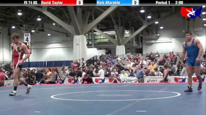 74kg SF David Taylor vs. Nick Marable