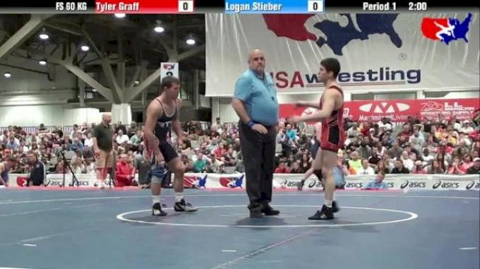 60KG Tyler Graff vs. Logan Stieber