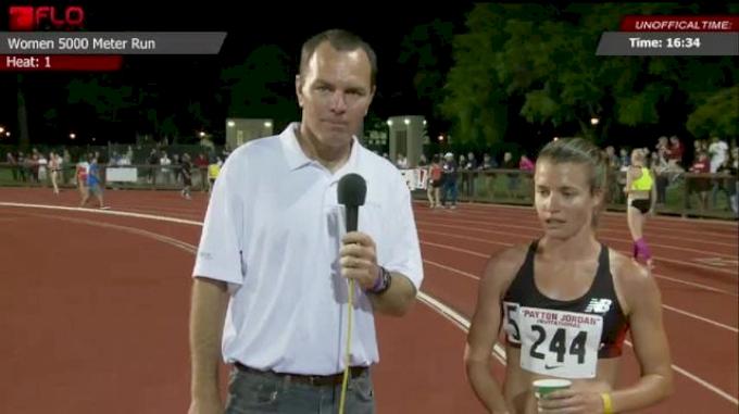 Kim Conley out kicks Lucas again to win 5k at 2013 Payton Jordan