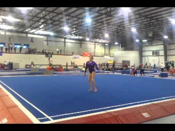 2013 Ladies AAU Nationals--FX Level 8 Gina Paulhus