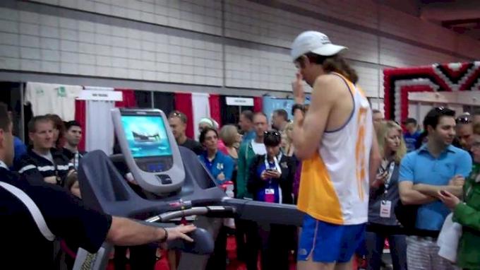 Michael Wardian Half Marathon on Treadmill - Getting Started