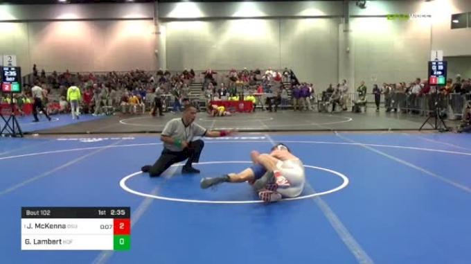 141 lbs Rd Of 32 - Joseph McKenna, Ohio State vs Garrett Lambert, Hofstra