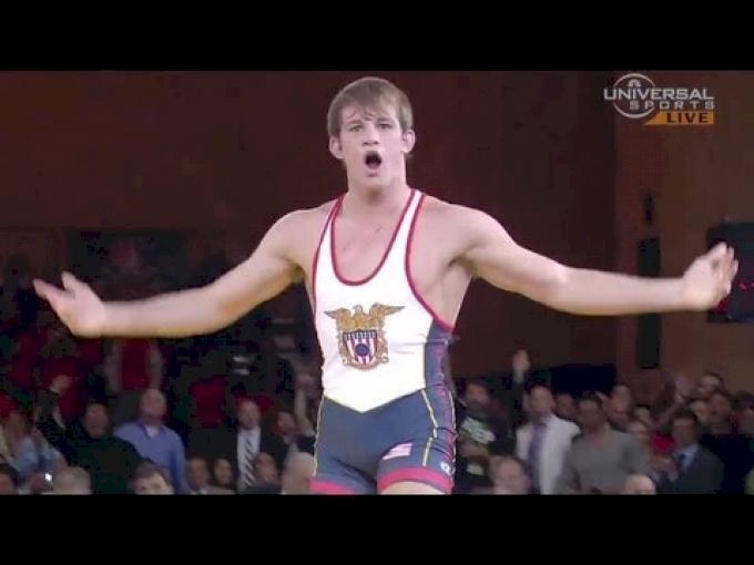Taylor dominates Kurbanaliev in Rumble On the Rails - Universal Sports