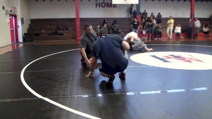 Tervel Dlagnev and Chris Pendleton sparring