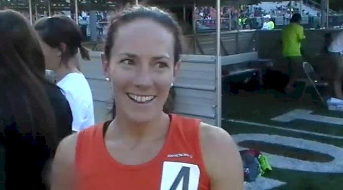 Rose Wetzel Sinnett doesnt quite run what she hoped but looking for more in 800 at Portland Track Festival