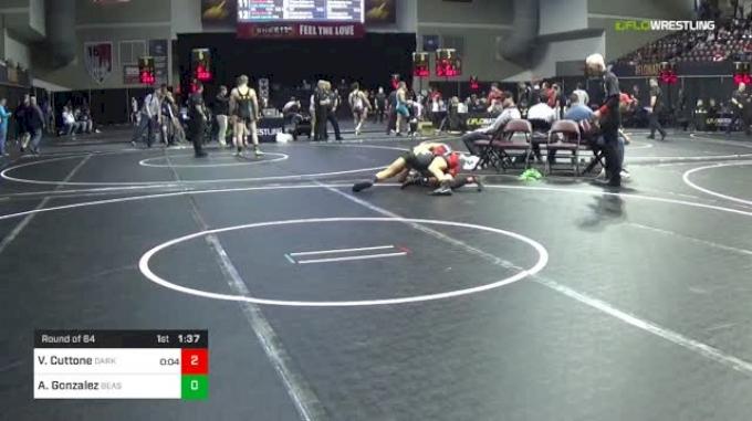 145 lbs Round Of 64 - Vito Cuttone, Darkhorse vs Antonio Gonzalez, Beast Mode