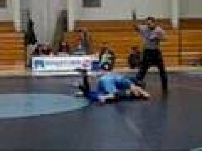 my varsity wrestling match on my birthday