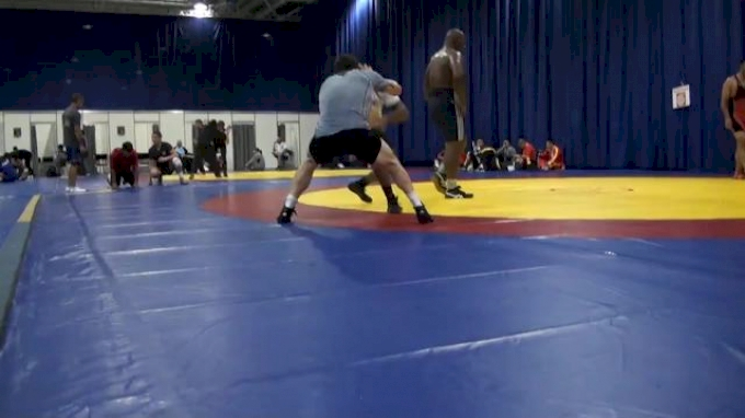 Jordan Burroughs training with Bryan Snyder