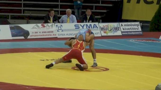 60 lbs quarter-finals Reece Humphrey USA vs. Esmaeilpoor Iran