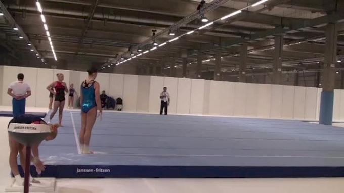Russia, Aliya Mustafina - new FX routine for 2013 World Championships