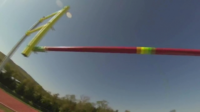 GoPro + Pole Vaulting = WOW