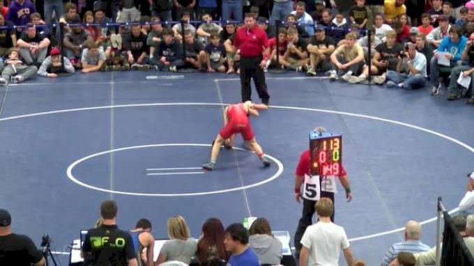 113 #1-So. Nick Suriano (NJ) vs. #2-Fr. Spencer Lee (PA)