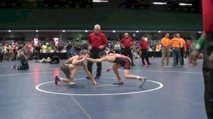 106 lbs semi-finals Yianni Diakomahalis NY vs. Tyler Warner OH