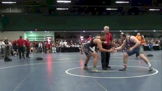 220 lbs semi-finals Ian Butterbrodt vs. Vinny Feola NY