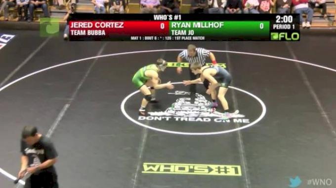 138 lbs Nolf vs McKenna