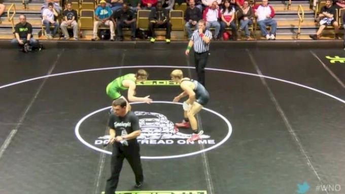 152 lbs Baldwin vs Reenan