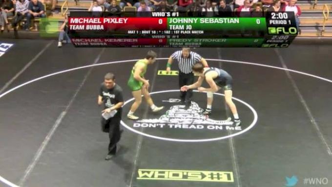 182 lbs Pixley vs Sebastian