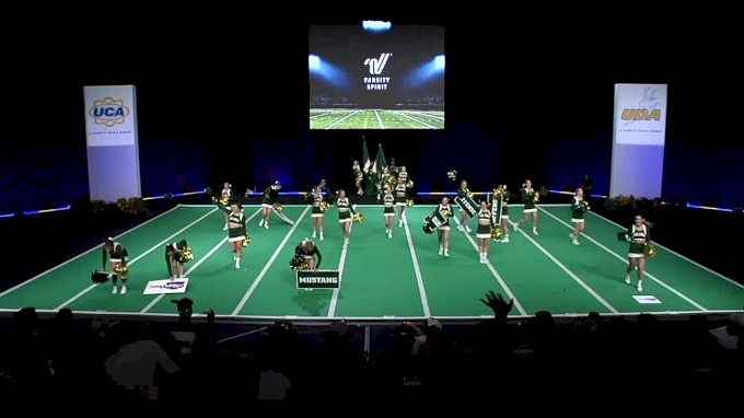 Cal Poly Mustangs [2018 Open All Girl Game Day] UCA & UDA College Cheerleading and Dance Team National Championship
