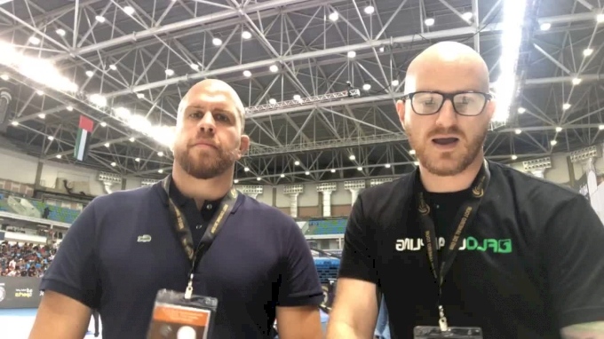 ADGS Rio: Hywel & Riccardo Recap Black Belt Action and Discuss Finals
