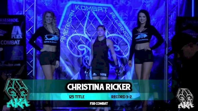 Hailey Cowan vs. Christina Ricker AKA 2 Replay