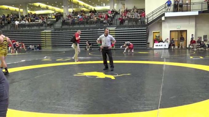 141 s, Jaydin Eierman, Missouri vs Kaden Gfeller, OK. State