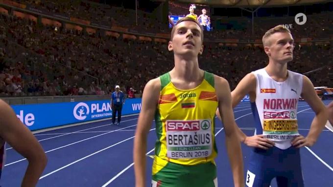 2018 European Championships - Men's 1500m, Final - Jakob Ingebrigtsen FTW!