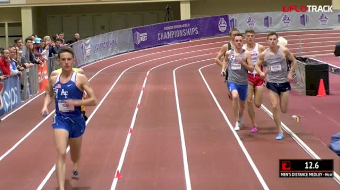 Men's Distance Medley Relay - New Mexico NCAA Record* 9:24.73 w/ Conversion