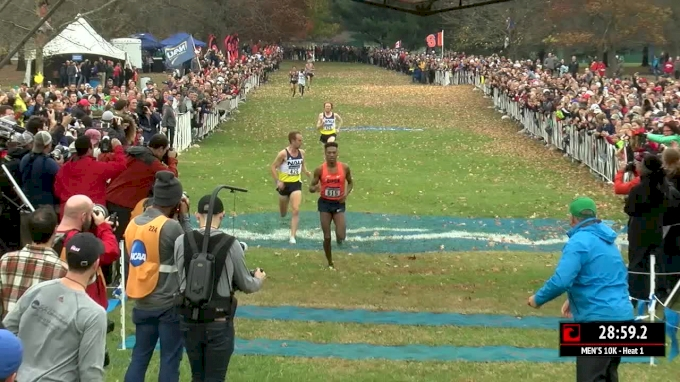 18 Of The Top 25 NCAA XC Finishers Will Race LIVE On FloTrack!