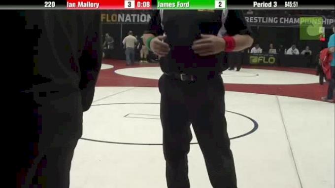 Sammy Sasso (PA) vs. Justin Mejia (CA)