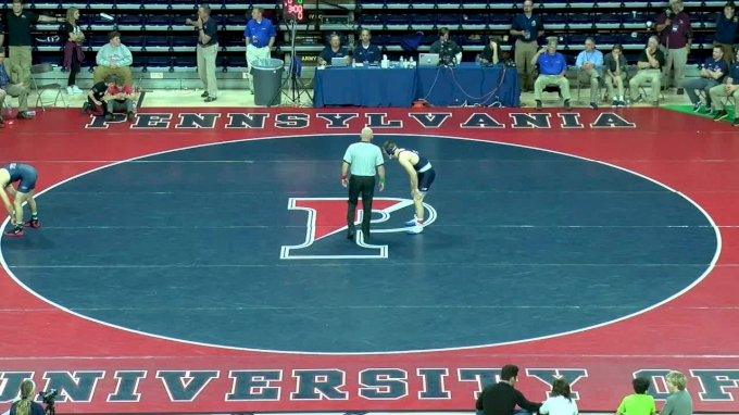 157 f, Jason Nolf, PSU vs Joe Velliquette, Penn