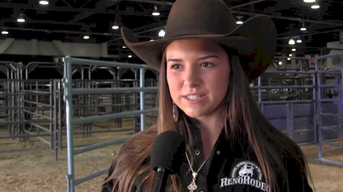 Kelsey Cadwell Gets On New Horse, Qualifies For Short Round At JrNFR