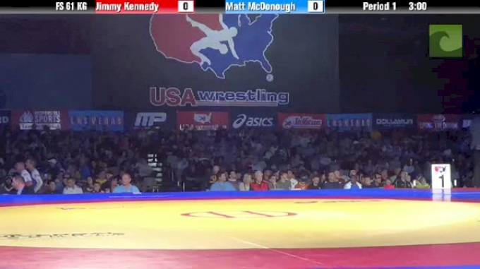 61kg Semi-finals Jimmy Kennedy vs. Matt McDonough