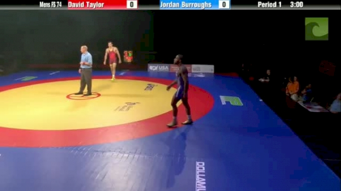 74kg Finals Match 2 David Taylor (OH) vs. Jordan Burroughs (NJ)