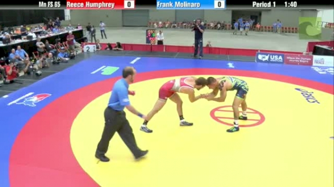 65kg 3rd Place Match Reece Humphrey (IN) vs. Frank Molinaro (NJ)