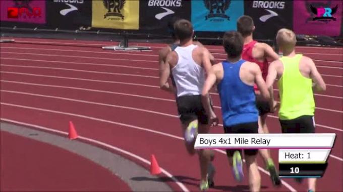 Boy's 4xMile F01 (Northport runs #2 all-time 17:06 Brooks PR 2014)