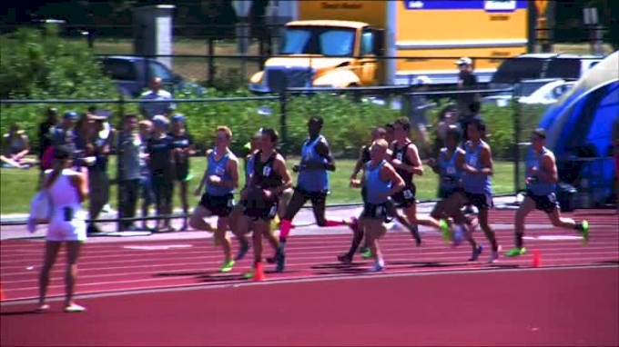 Boy's 2 Mile F01 (Grant Fisher big back-to-back wins, Brooks PR 2014)