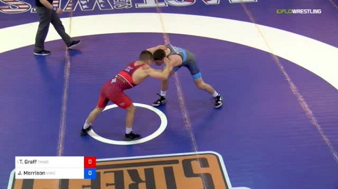 61 kg Final - Tyler Graff, TMWC vs Jon Morrison, Nyac/mwc