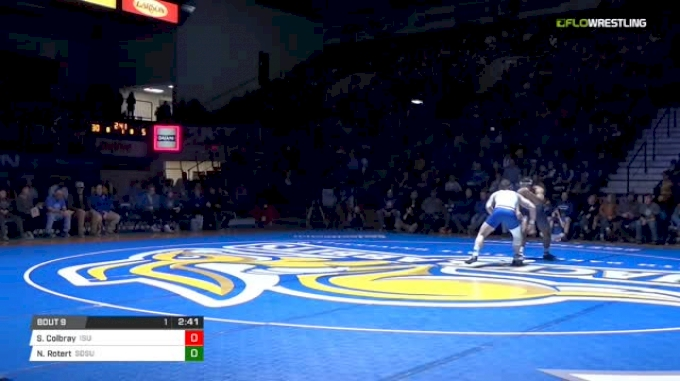 197 lbs Sam Colbray, ISU vs Nate Rotert, SDSU