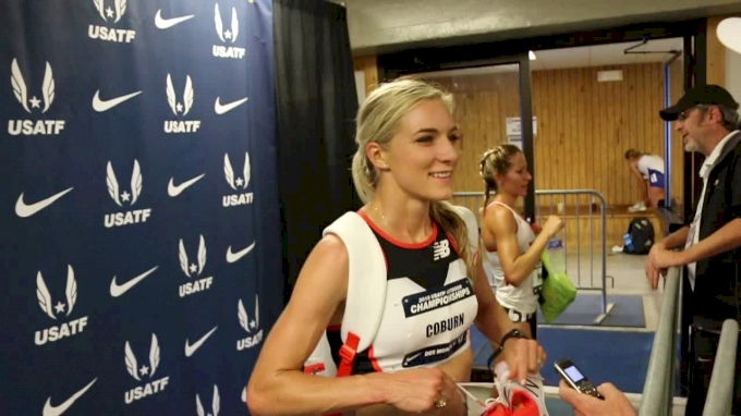 Emma Coburn On Alleged Ruth Jebet Positive & Oslo Barriers