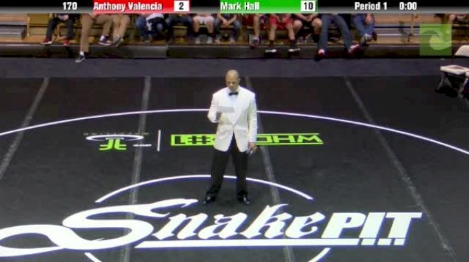 190lbs Match Robert Hamlin (VT) vs. Chris Perry (OK)