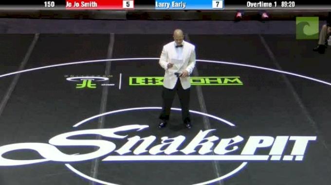 120lbs Match Daton Fix (OK) vs. Nick Suriano (NJ)