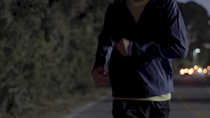 Hockey player turned distance runner