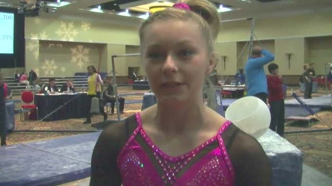 Kynsee Roby Of Triad Scores 9.9 On Beam