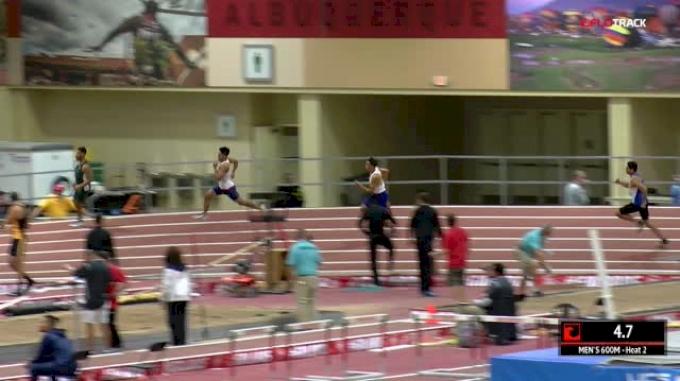 Men's 600m, Heat 2