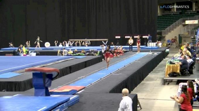 Hailey Garner - Vault, Arkansas - GymQuarters Invitational (NCAA)