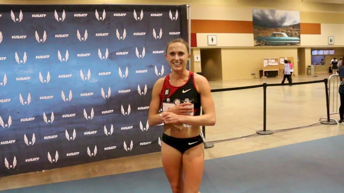 Shelby Houlihan closed in 28 to defend her USATF 3K title