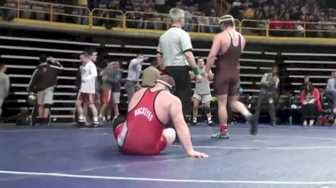 285lbs Quarter-finals Nick Tavanello (Ohio State) vs. Doug Vollaro (Lehigh)