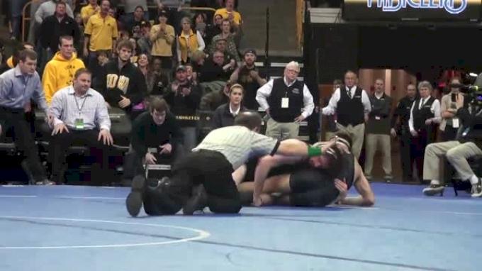 174lbs Finals Mike Evans (Iowa) vs. John Eblen (Missouri)