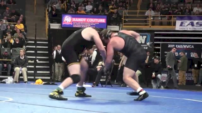 285lbs Finals Bobby Telford (Iowa) vs. Devin Mellon (Missouri)