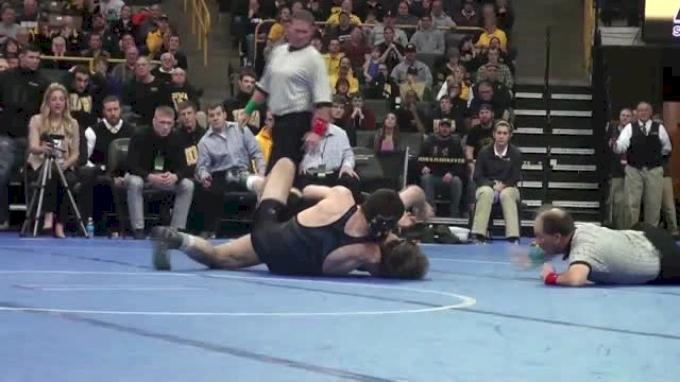184lbs Finals Willie Miklus (Missouri) vs. Alex Meyer (Iowa)